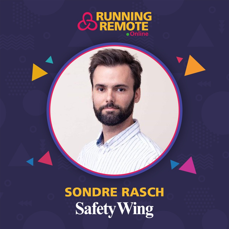 Sondre Rasch, Co-founder and CEO, SafetyWing (YC W18)