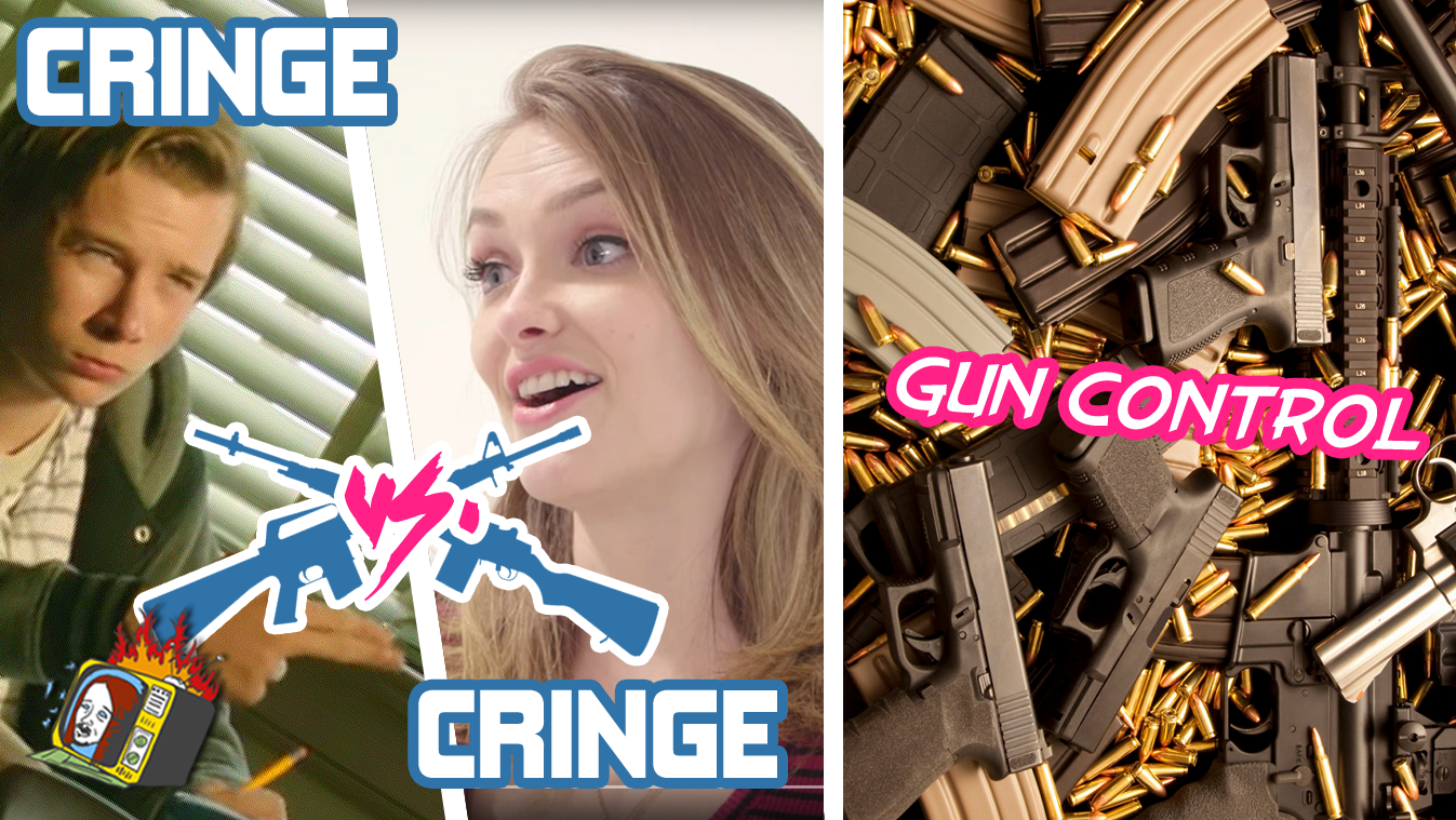 "GUN CONTROL: ""Couples Talk About Gun Ownership"" VS. ""Evan"" - CRINGE VS. CRINGE"