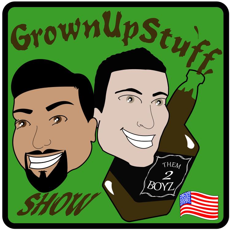 Grown Up Stuff Podcast logo