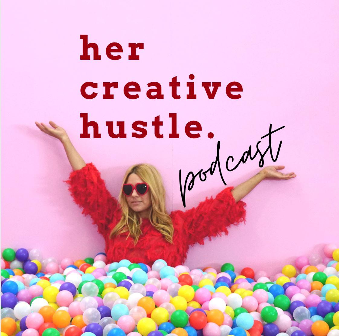 Her Creative Hustle show art