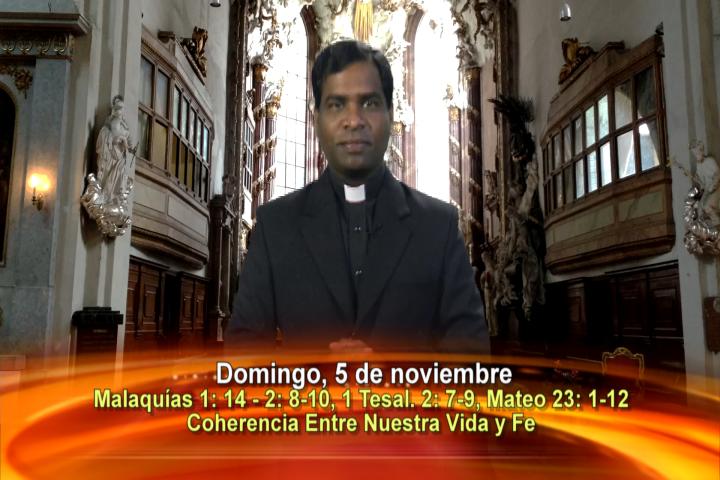 Artwork for Dios te Habla con Fr. Deeber Yonas, SVD   Tema el hoy:Coherencia entre nuestra Vida y Fe