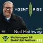 Artwork for Why Stuck Agents Still Shouldn't Quit Real Estate - Episode #179