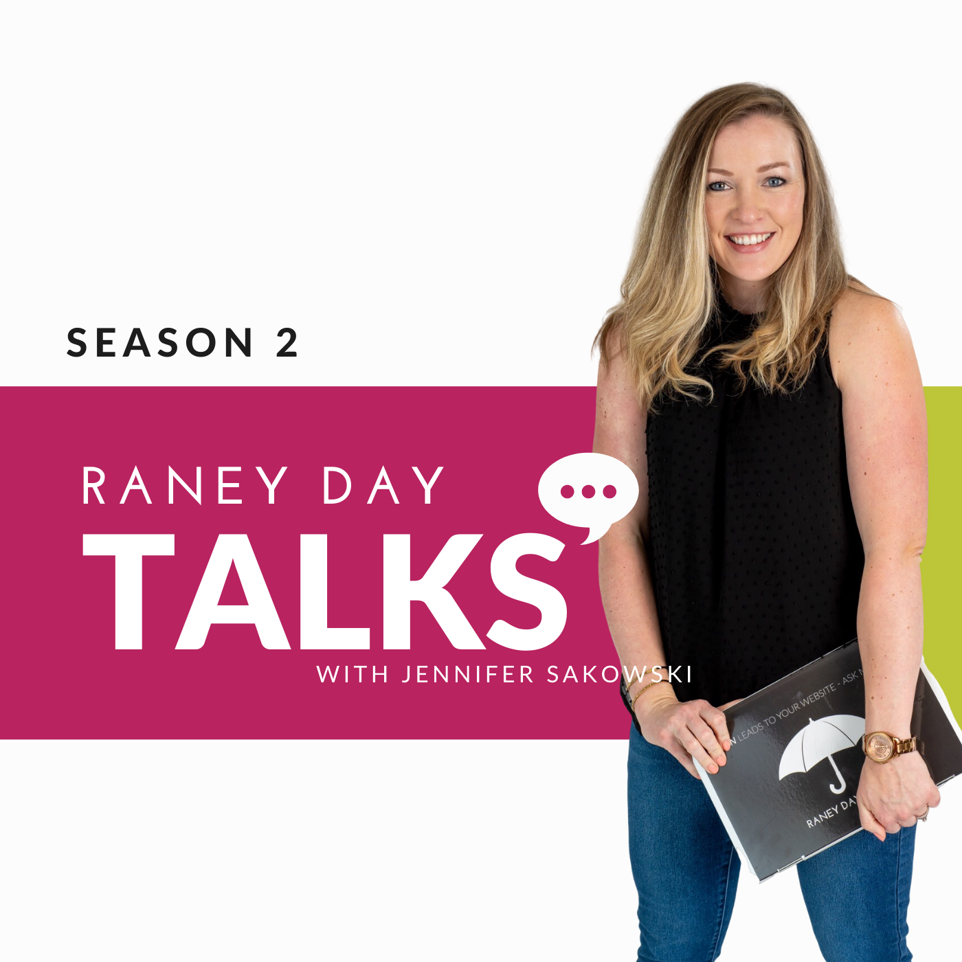 Raney Day Talks Podcast show art