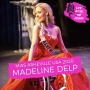 Artwork for Miss Asheville USA 2020 Madeline Delp - Being the first ever North Carolina USA Wheelchair Competitor and Her Optimistic Attitude on Life