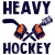 HEAVY HOCKEY PODCAST 2020 Game 1 with guest SPR show art