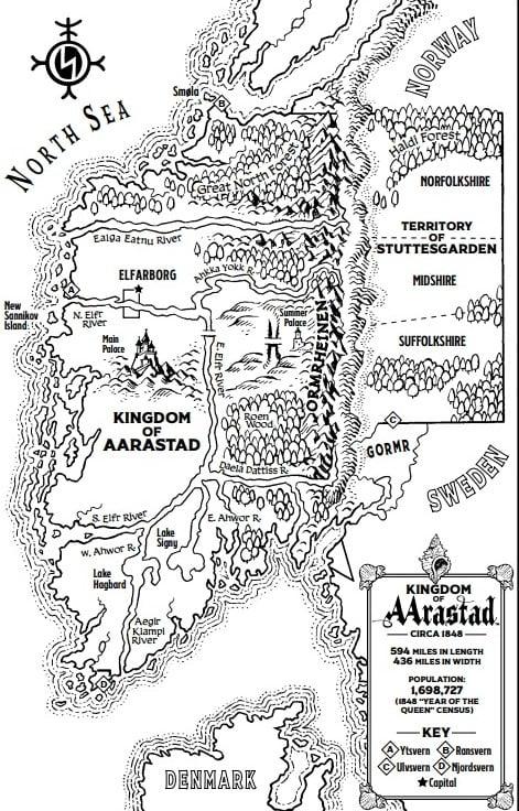 Aarastad Map