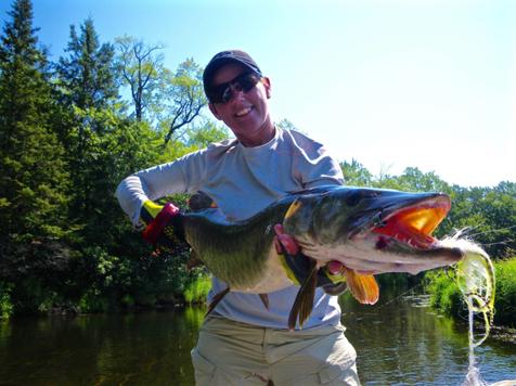 NOME Buckman Fly fishing Guide for Muskie HFJ No. 134