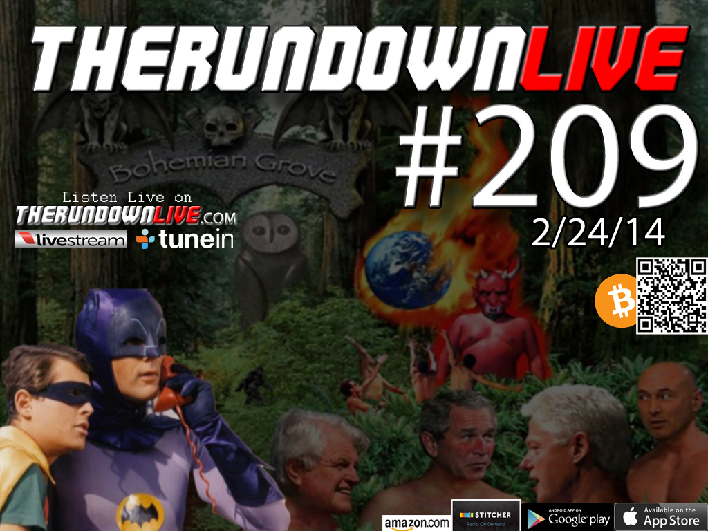 The Rundown Live #209 Open Lines (Snowden Leaks,Bilderberg,Police,Piers)