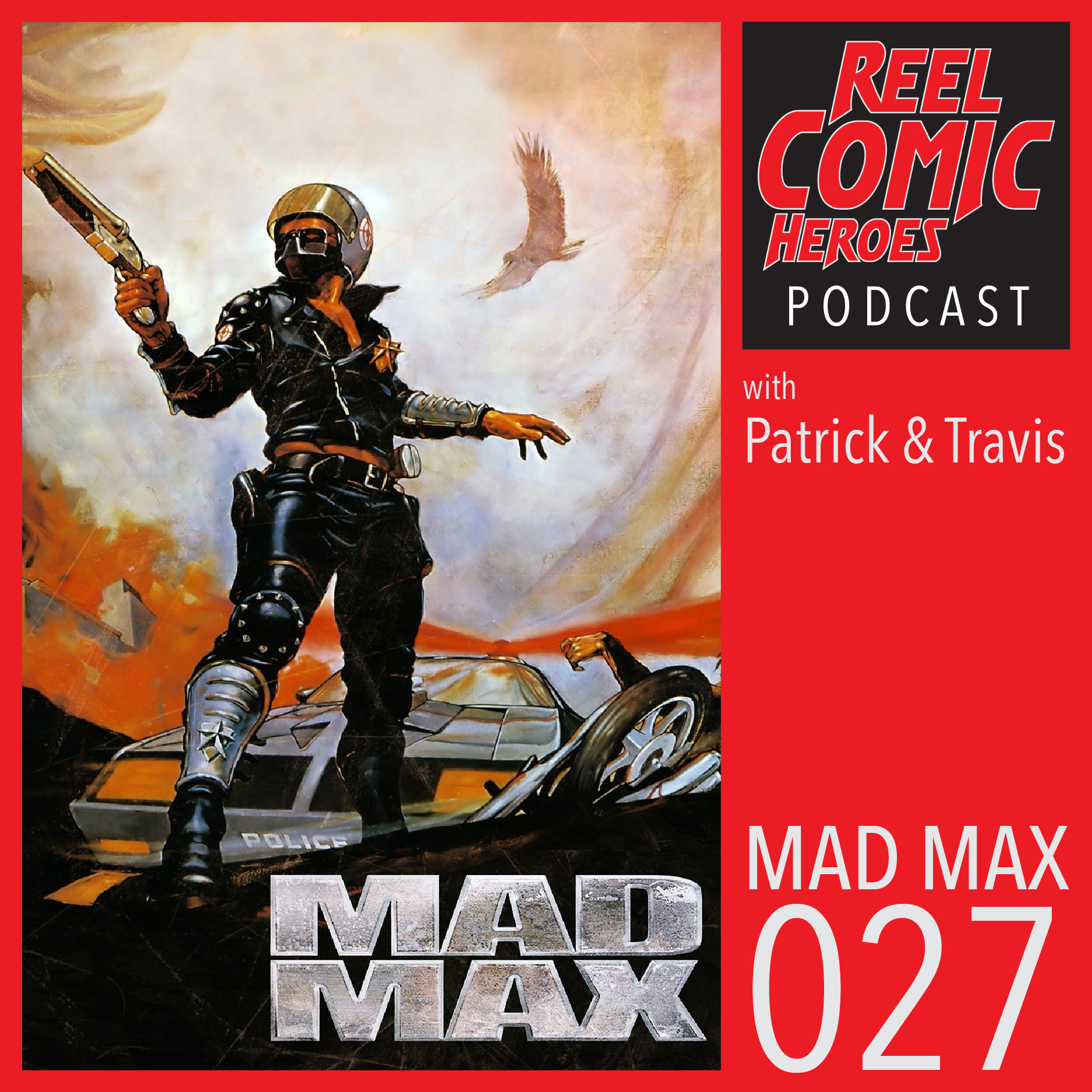 Artwork for Reel Comic Heroes 027 - Mad Max