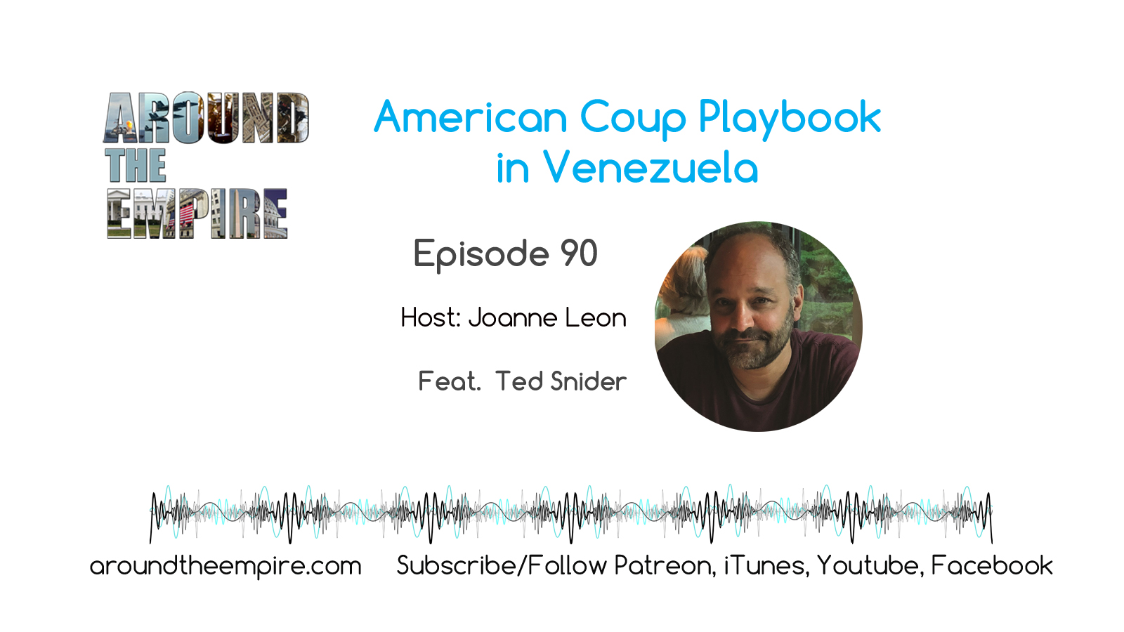 Ep90 American Coup Playbook in Venezuela feat Ted Snider