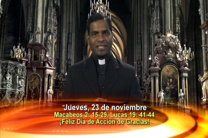 Artwork for Dios te Habla con Fr. Deeber Yonas, SVD  Tema el hoy: ¡Feliz Día de Acción de Gracias!