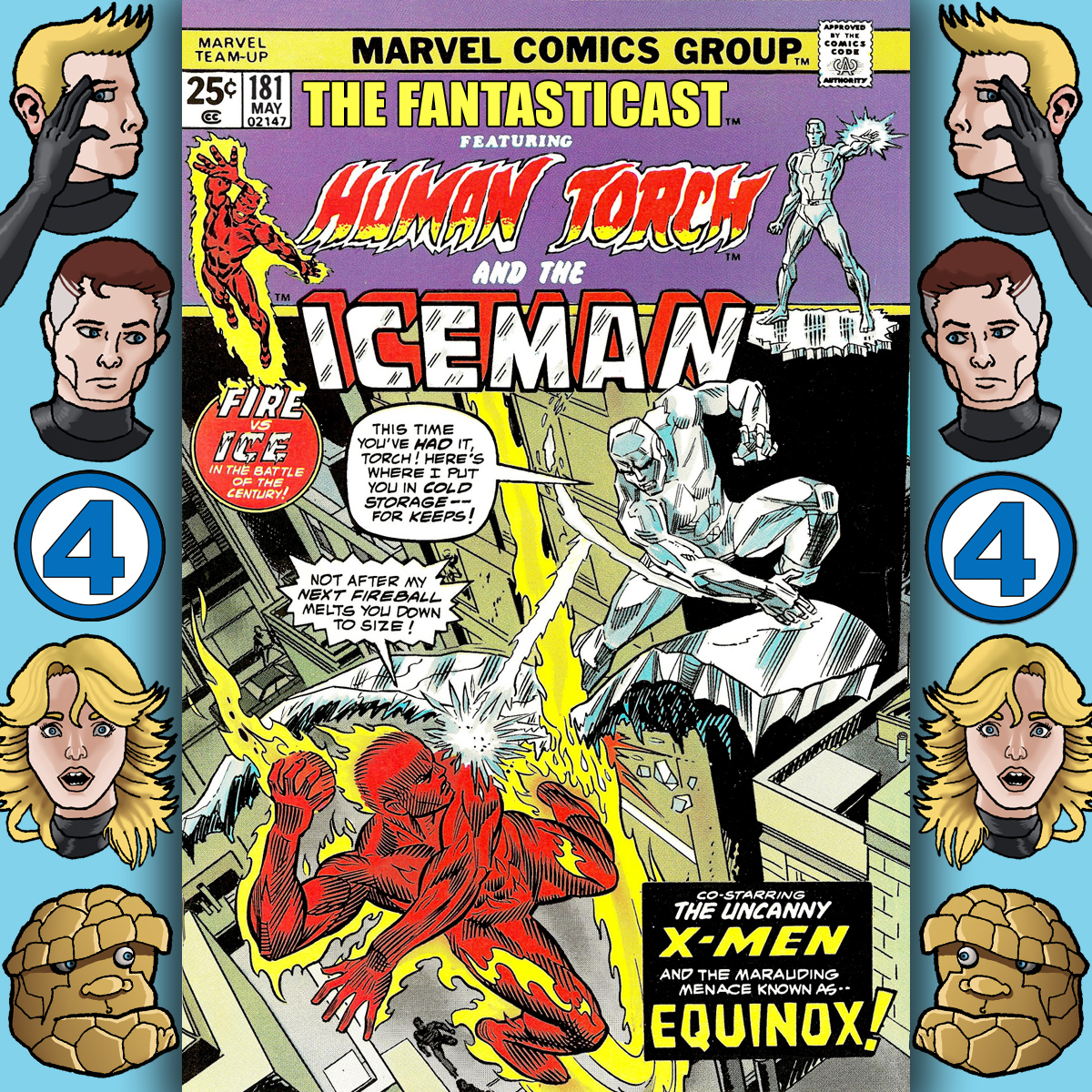 Episode 181: Marvel Team-Up #23 - The Night Of The Frozen Inferno