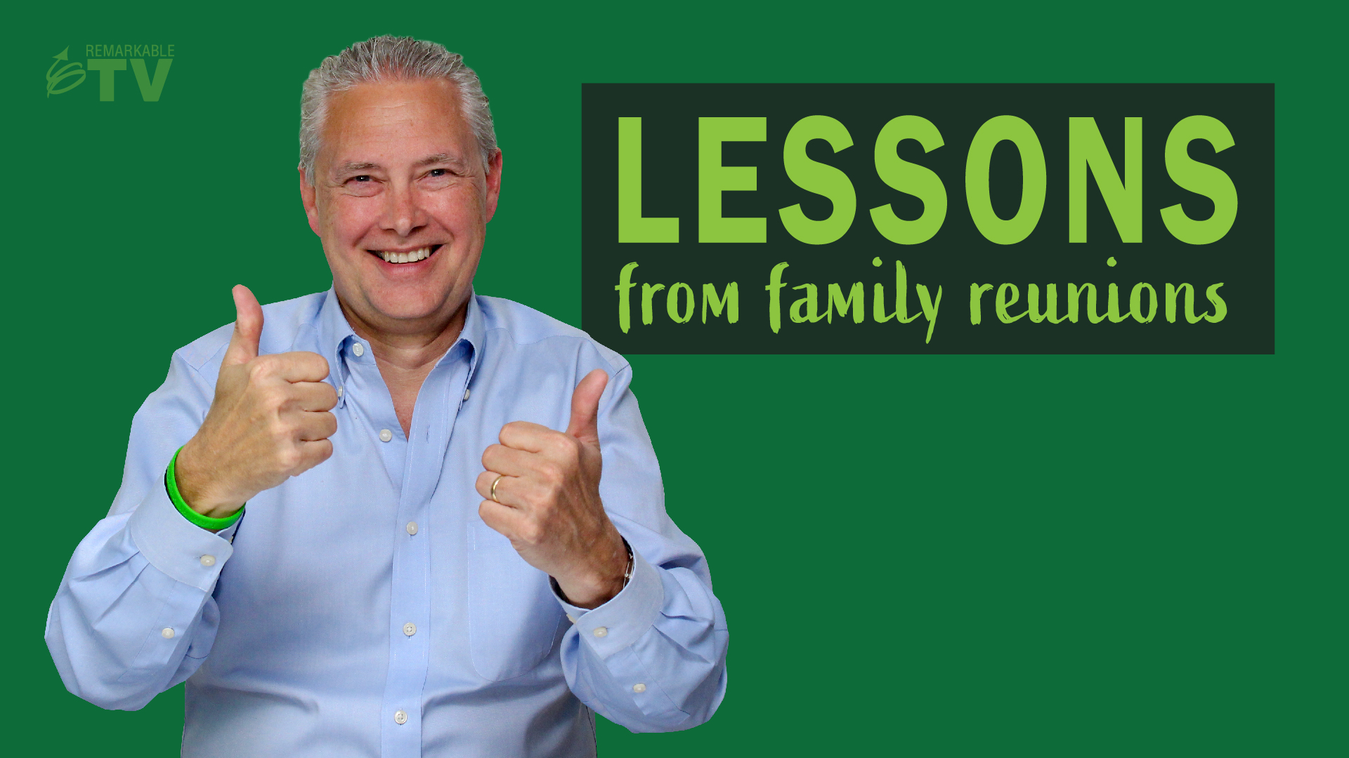 Lessons from Family Reunions - Thoughts from Kevin show art