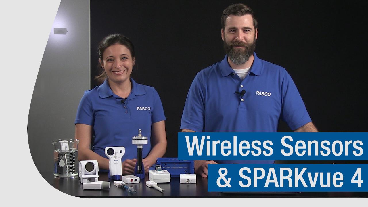 Artwork for Wireless Sensors and SPARKvue 4   Get Started