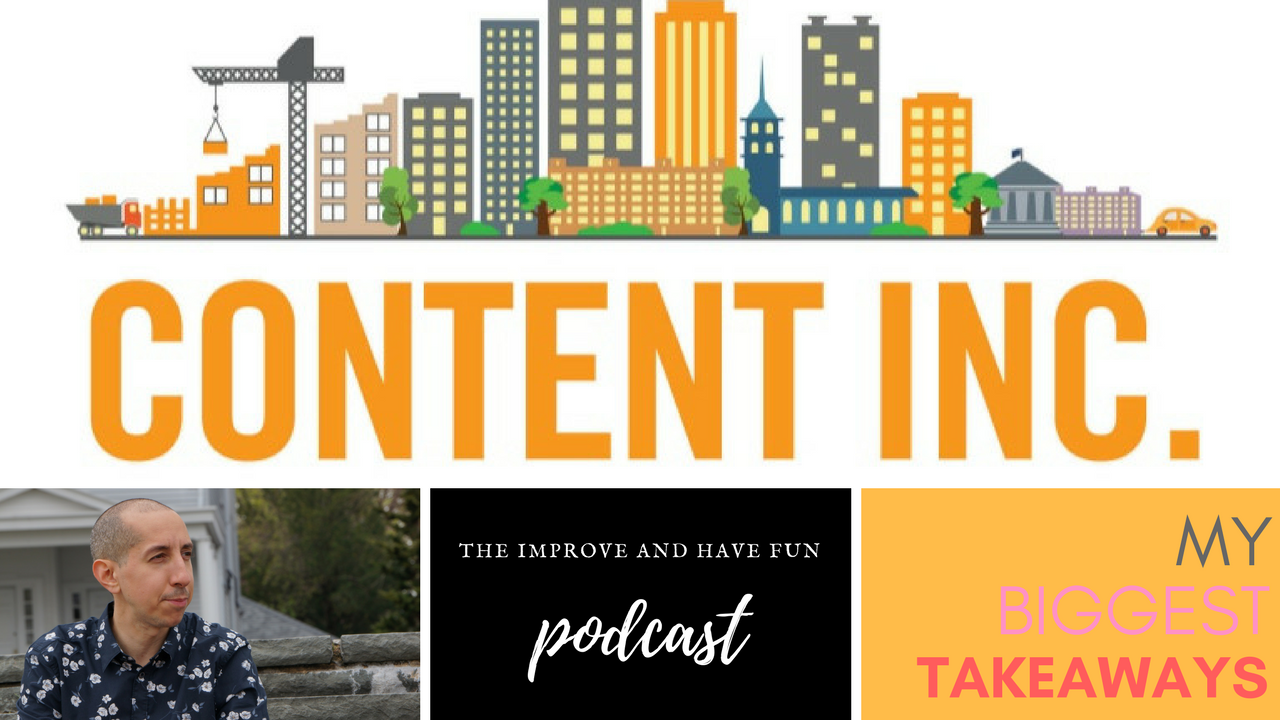 Artwork for Content Inc. - My Biggest Takeaways-VIDEO