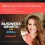 Artwork for 062 Making More Time in Your Business with Adrienne Dorison, Co-Founder of Run Like Clockwork