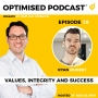 Artwork for #10 - Values, integrity and success with Ryan Munsey
