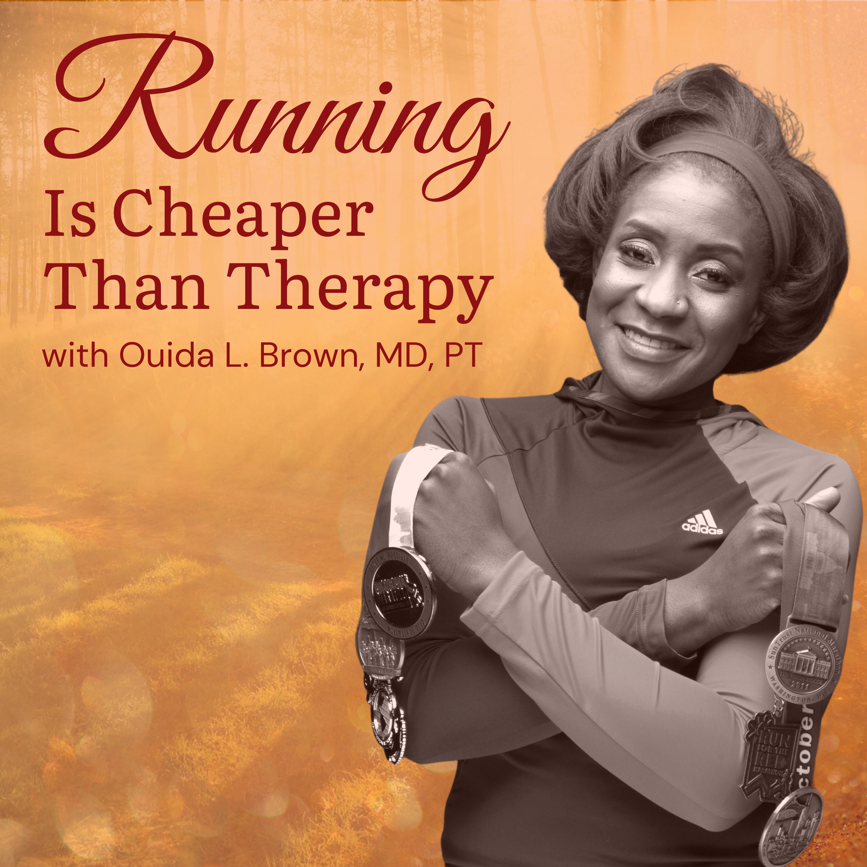 Running is Cheaper Than Therapy show art