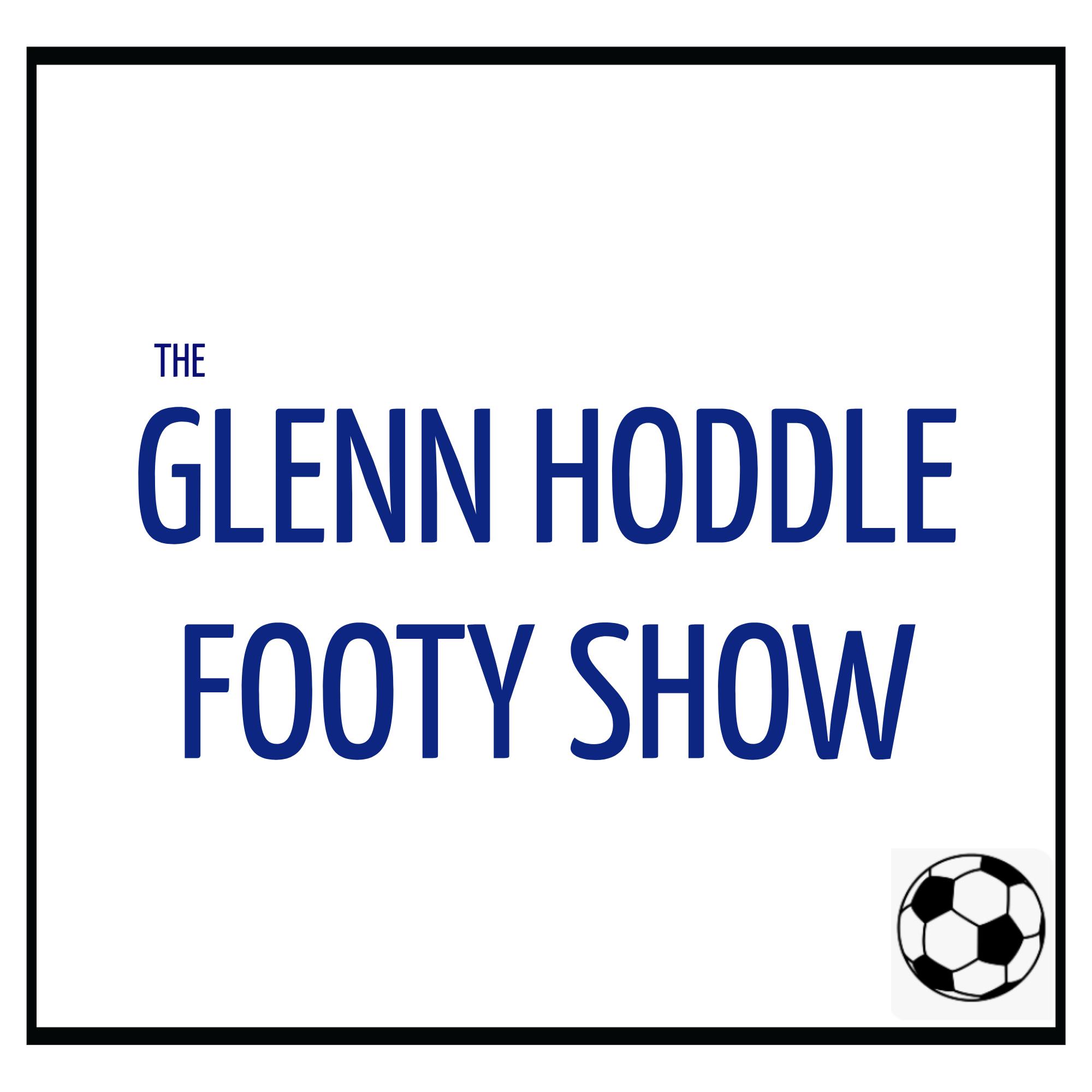 The Glenn Hoddle Footy Show show art