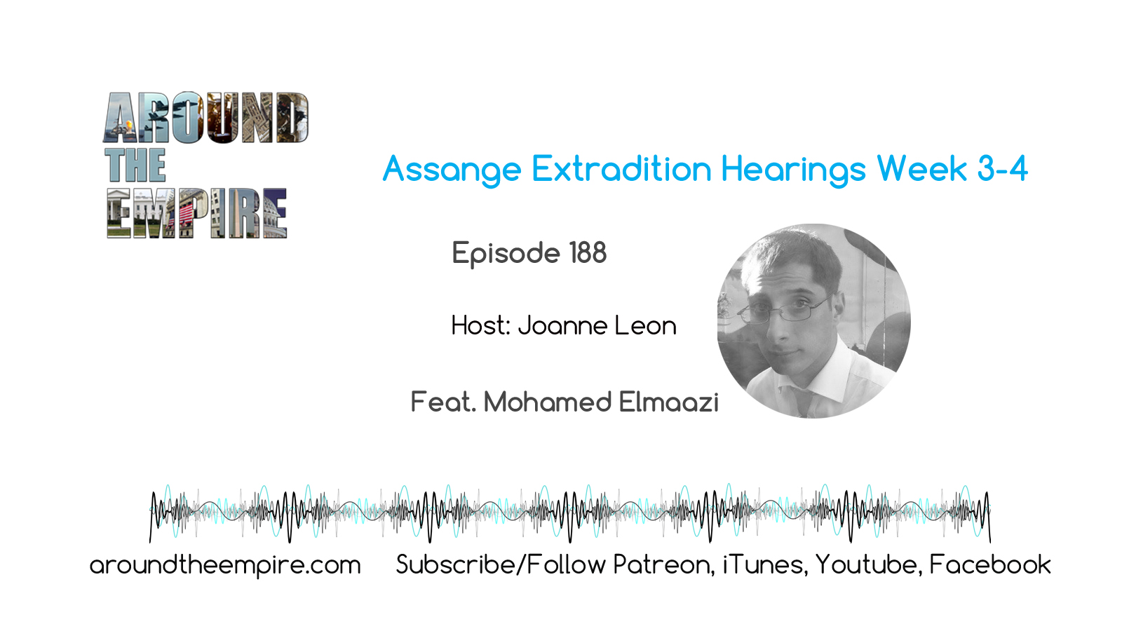 Ep 188 Assange Extradition Hearings Week 3-4 feat Mohamed Elmaazi