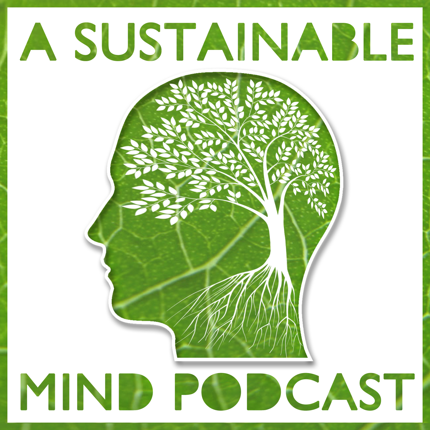 A Sustainable Mind - environment & sustainability podcast show art