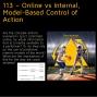 Artwork for 113 – Online vs Internal, Model-Based Control of Action