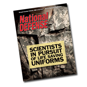 Artwork for Scientists in Pursuit of Life Saving Uniforms - October 2011