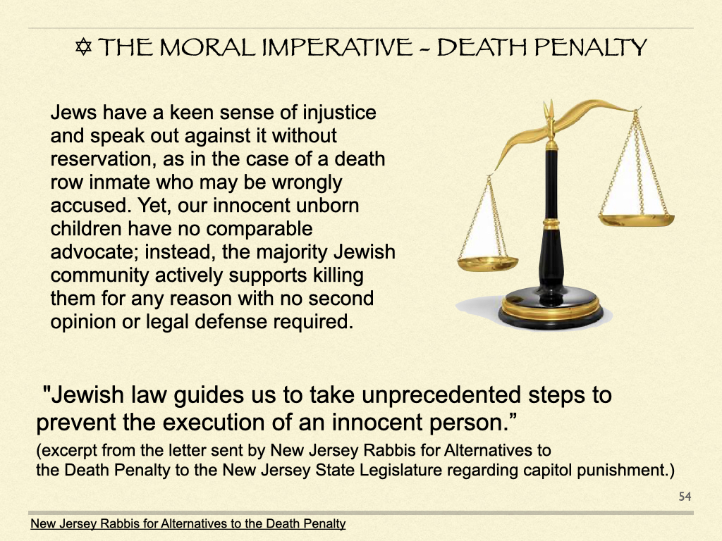 The Moral Imperative - Death Penalty