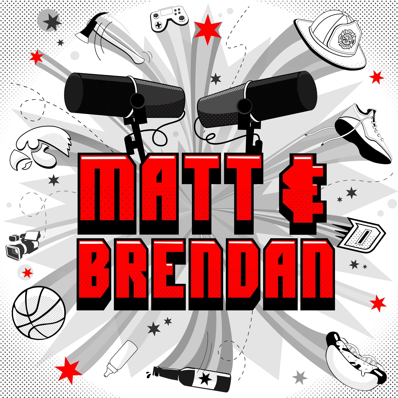 Matt & Brendan show art