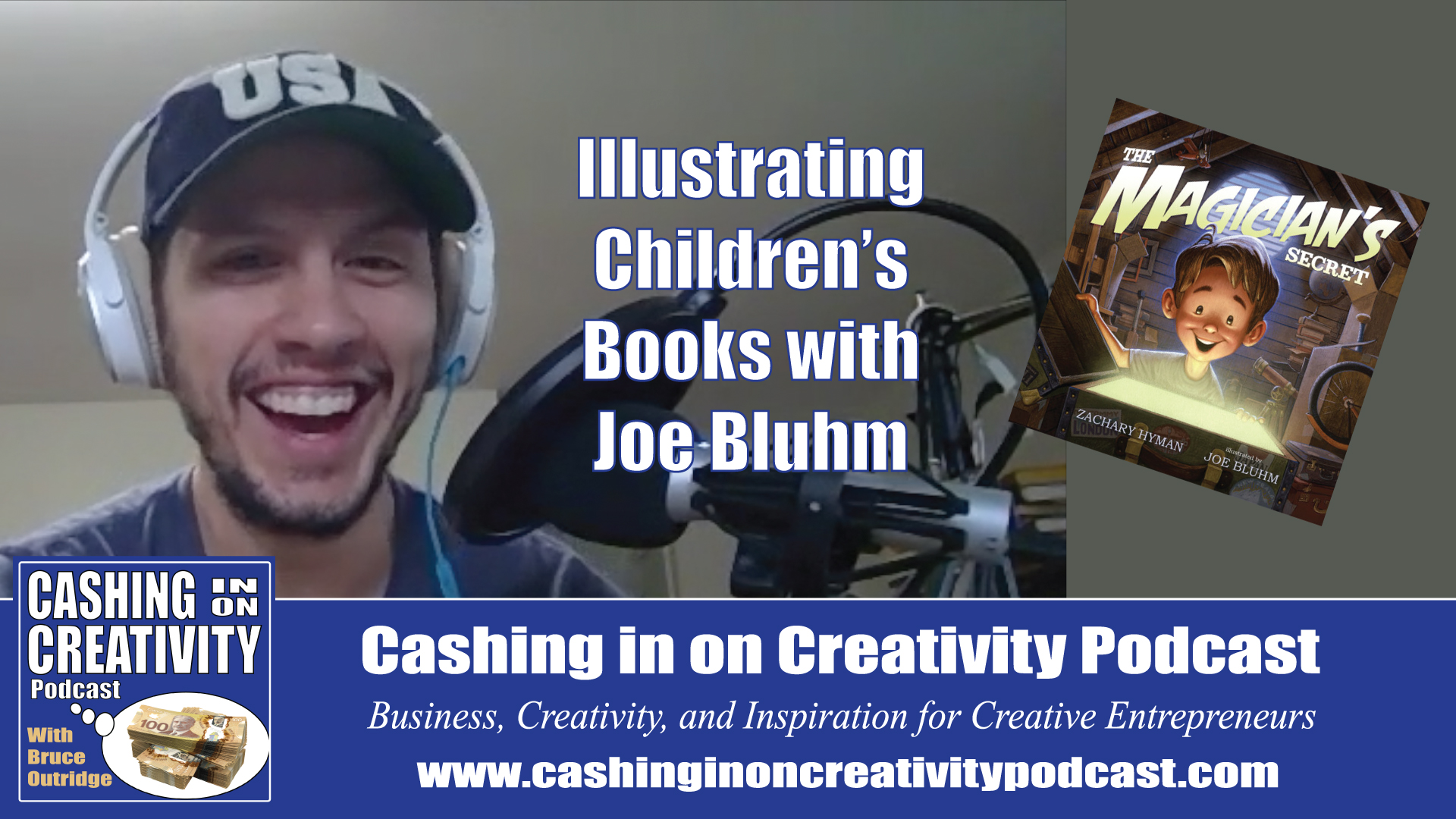 Illustrating Children's Books with Joe Bluhm