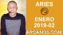 Artwork for HOROSCOPO ARIES-Semana 2019-02-Del 6 al 12 de enero de 2019-ARCANOS.COM...