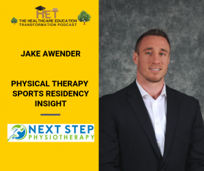 Jake Awender - Physical Therapy Sports Residency Insight