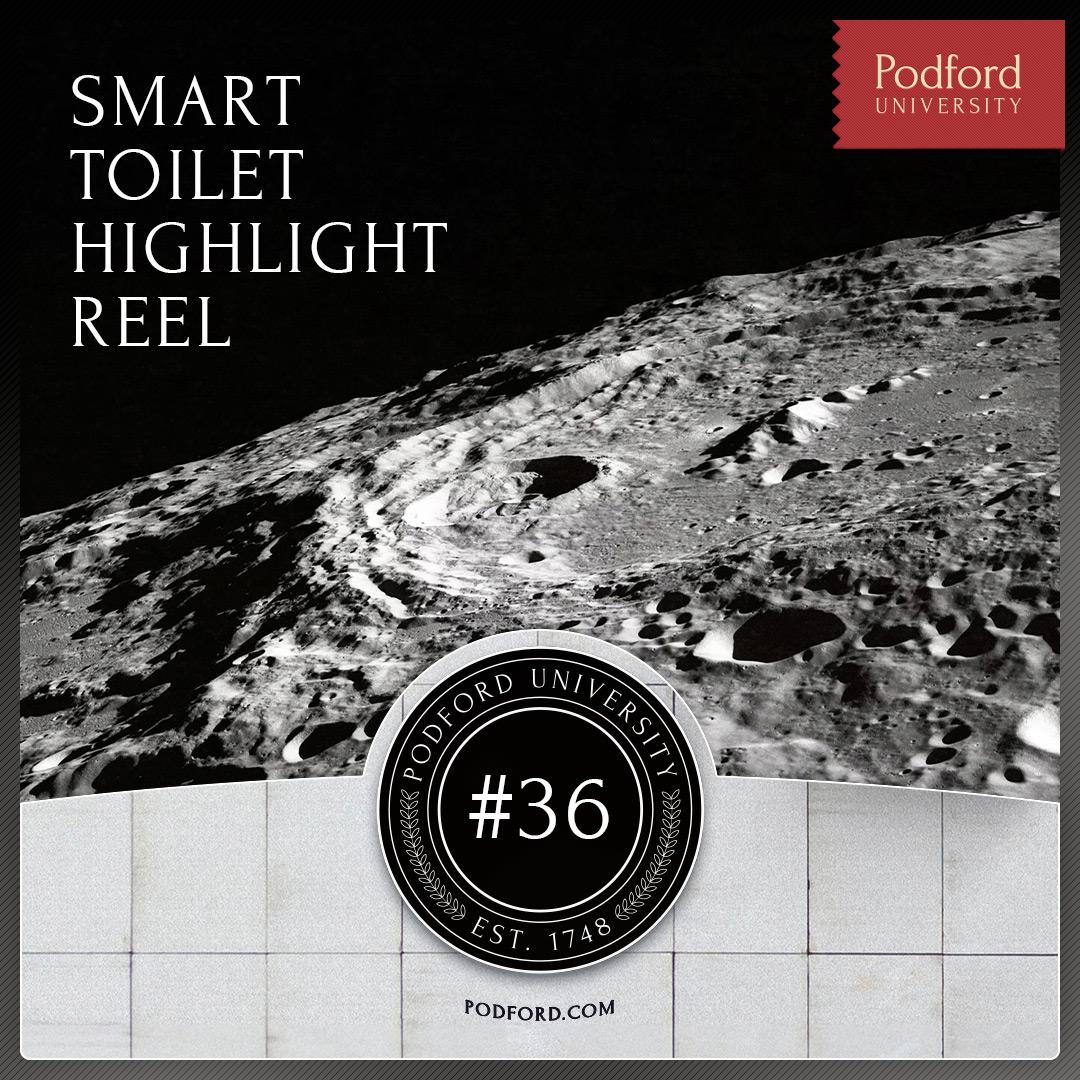 Podford University: Smart Toilet Highlight Reel