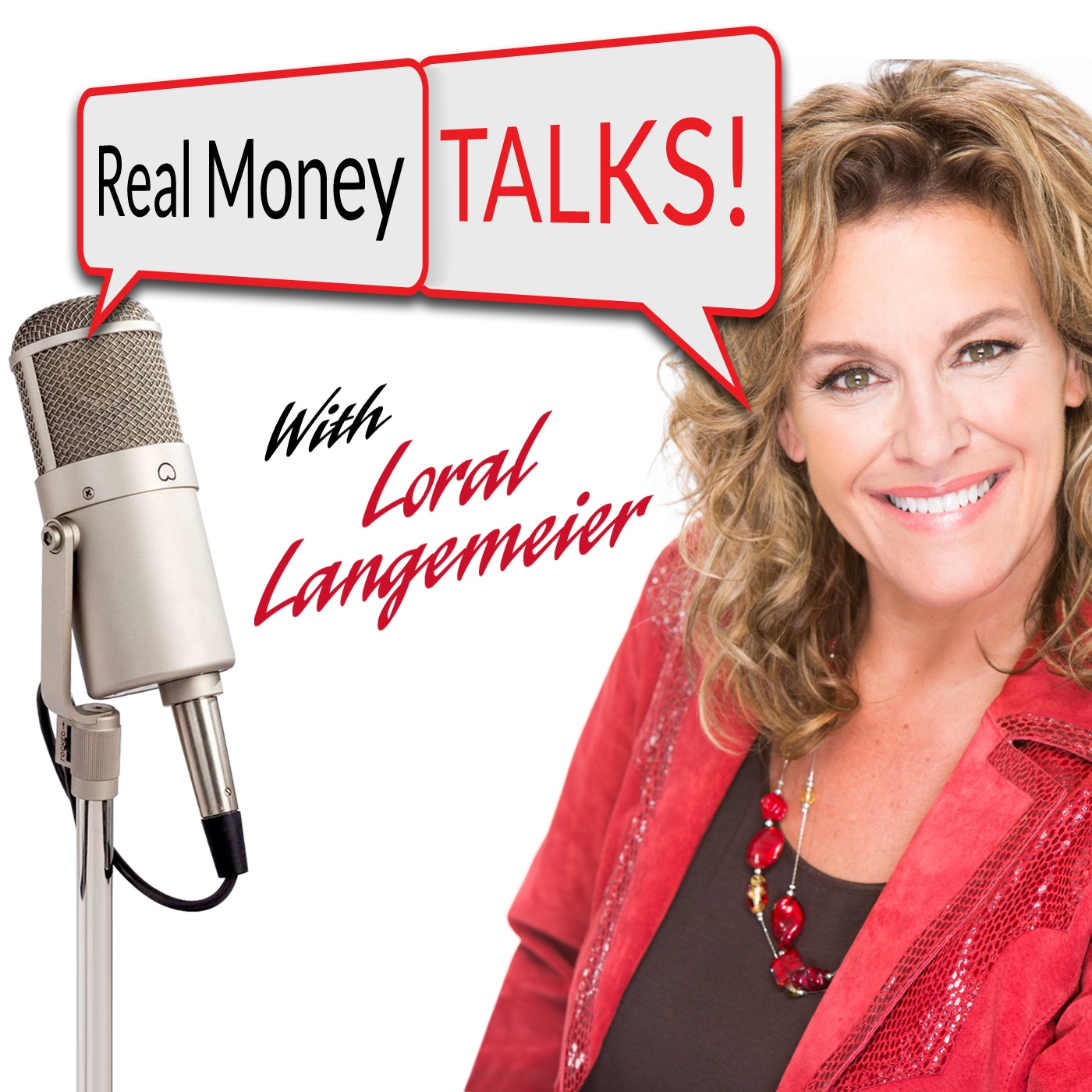 Real Money Talks show art