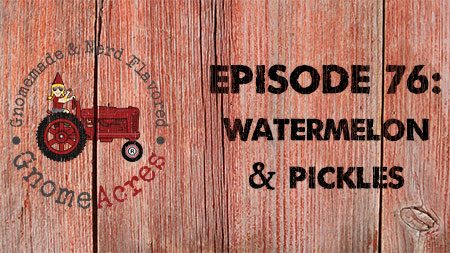 Artwork for Ep 76: Watermelon & Pickles