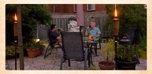 0150 - Mario Cardinal et Guy Barrette - En vacances
