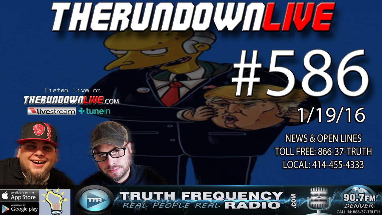 The Rundown Live #586 (Facebook Bans,Censorship, Brain Binary Code)