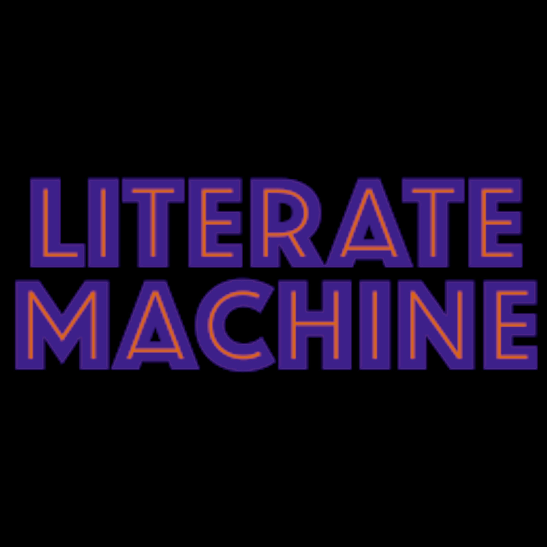 Literate Machine show art