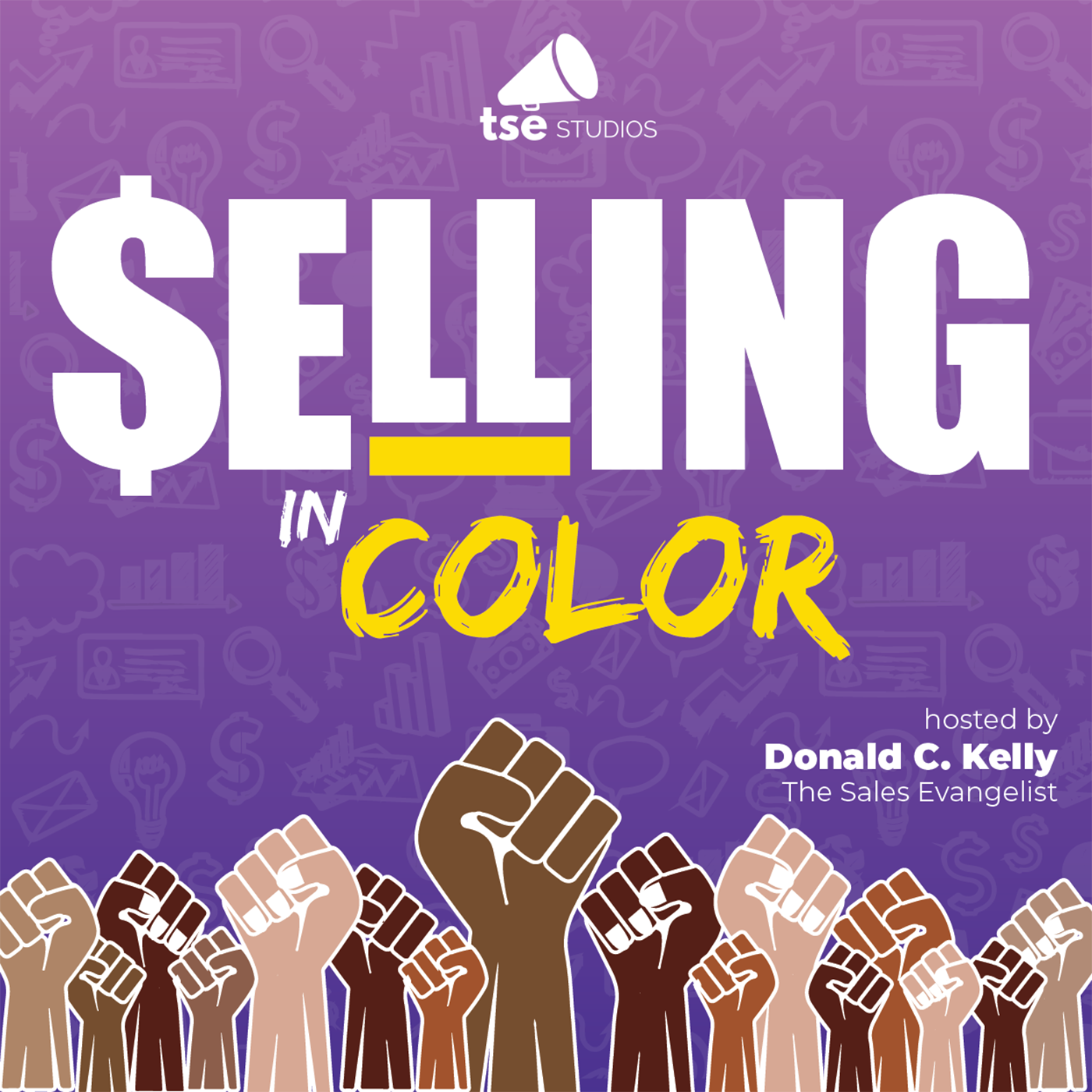 Selling in Color show art