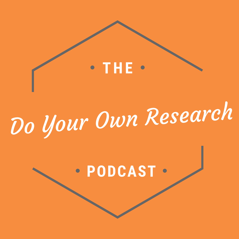 The DYOR Podcast - Blockchain, Bitcoin & Cryptocurrency show art