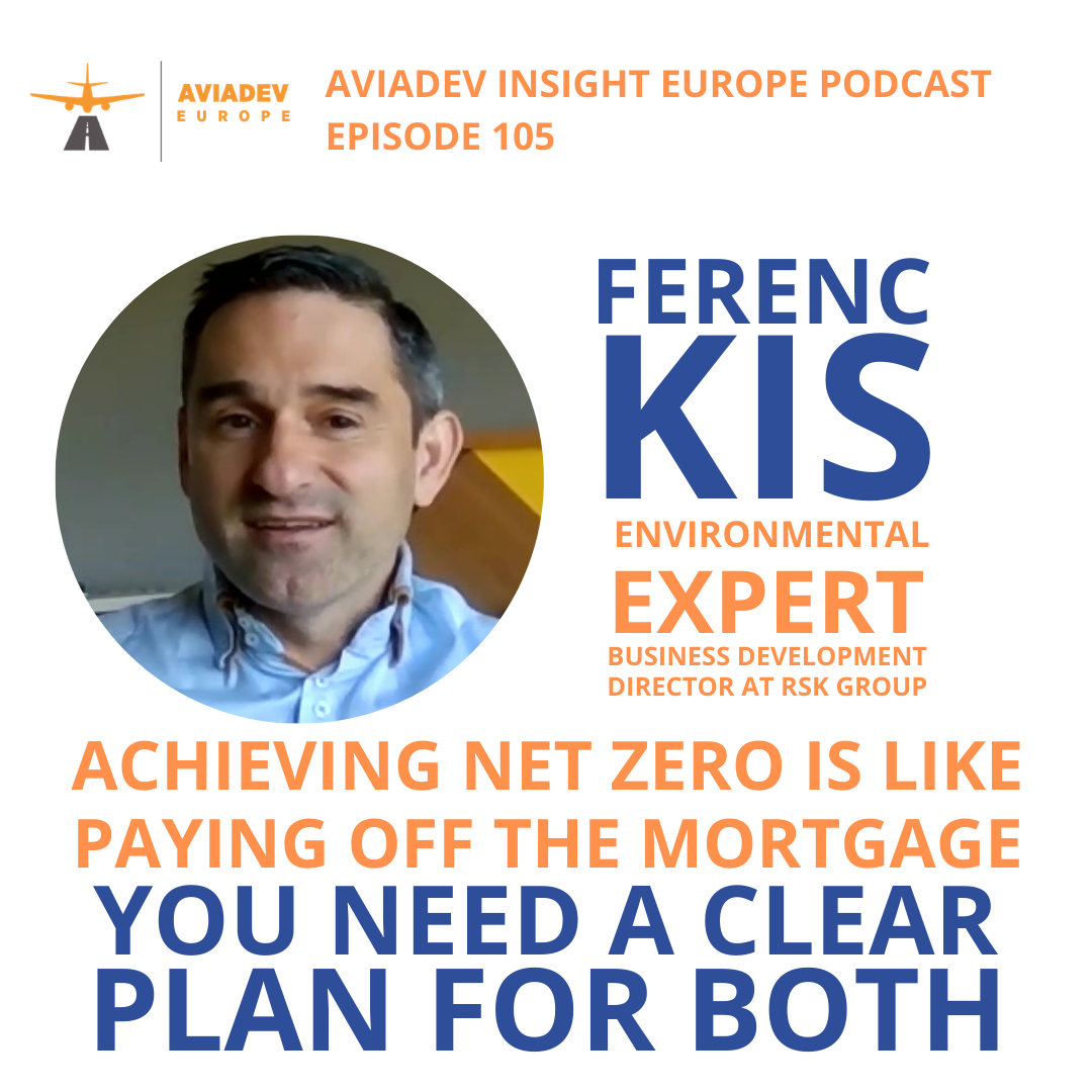 Episode 105 with Ferenc Kis: Achieving net zero is like paying off the mortgage. You need a plan for both