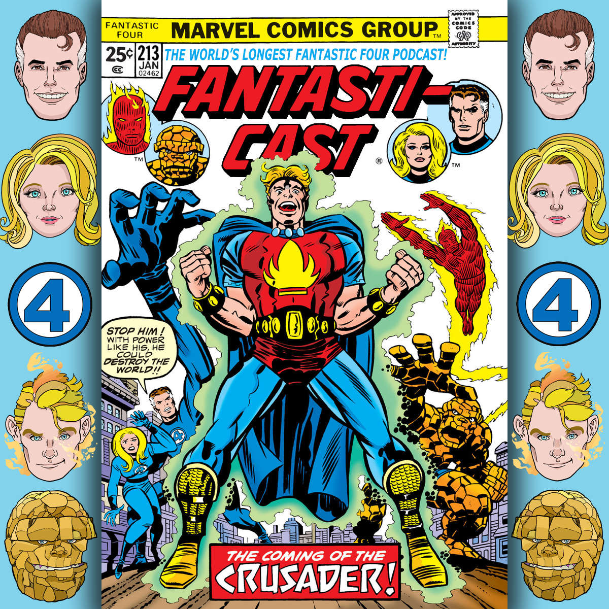 Episode 213: Fantastic Four #163 - The Crusader Syndrome