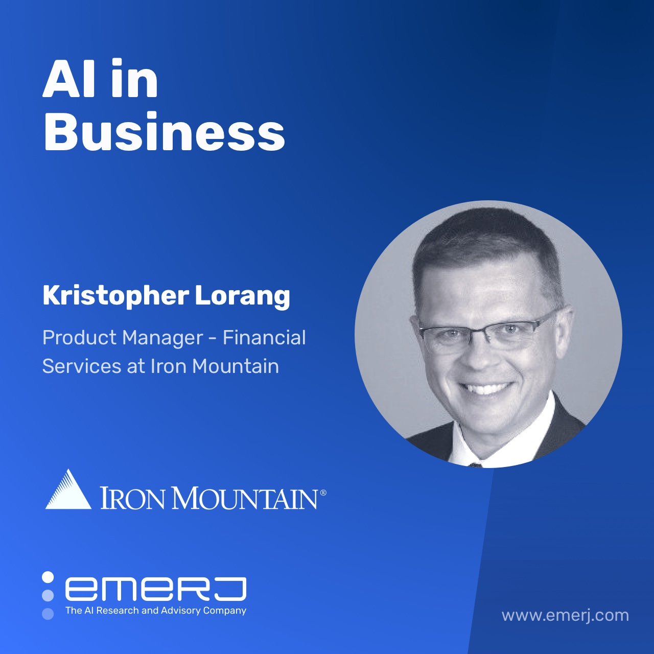 AI Impact in Mortgage Processing - with Kris Lorang of Iron Mountain
