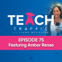 Artwork for 75 - How To Successfully Use Influencer Marketing To Grow Your Business 6 Figures & Beyond With Amber Renae
