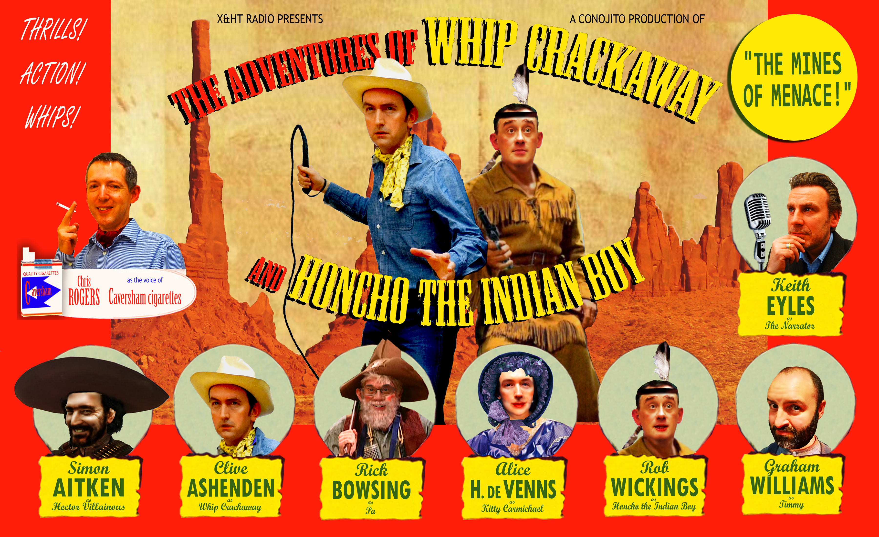 Artwork for The Adventures Of Whip Crackaway And Honcho The Indian Boy