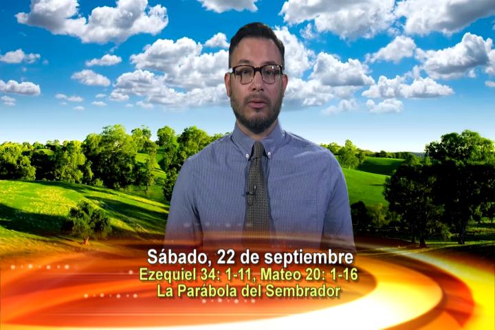 Artwork for Dios te Habla con Elder Samaniego;  Tema el hoy: La Parábola del Sembrador