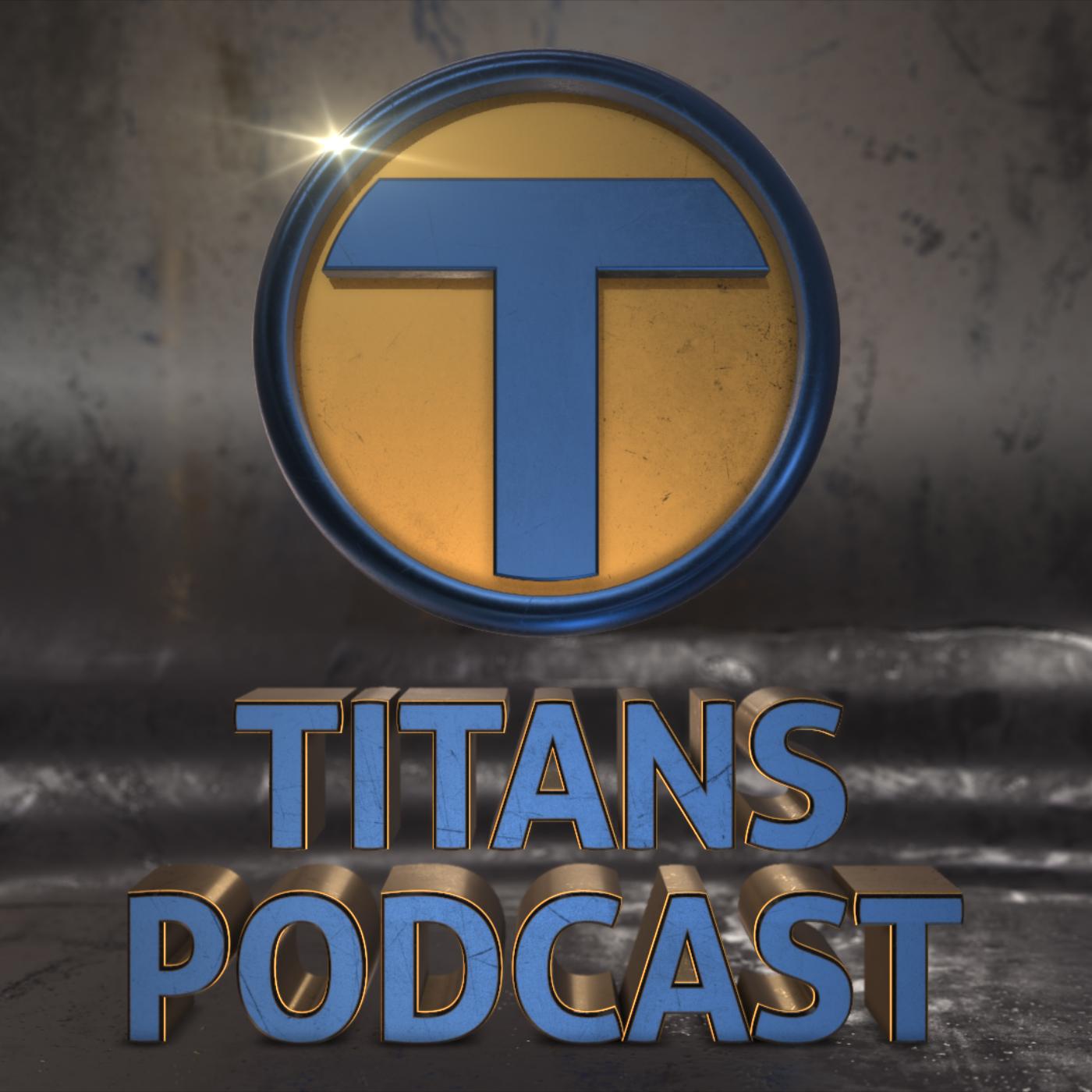 Artwork for Titans Podcast Season 0 – Episode 5: Doom Patrol, Jason Todd Rumors, Costume Set Photos & New Co-Host