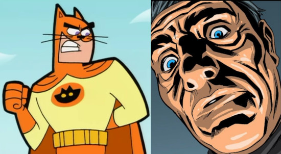 Catman and False Face