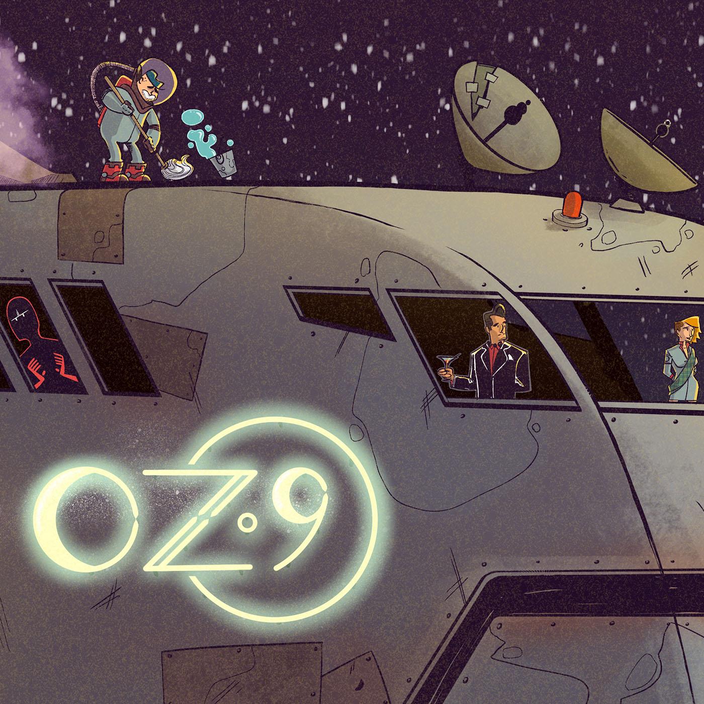 Oz 9 show art