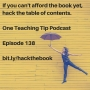 Artwork for Episode 138 - Learn Powerful Teaching Strategies Just from Reading the Table of Contents
